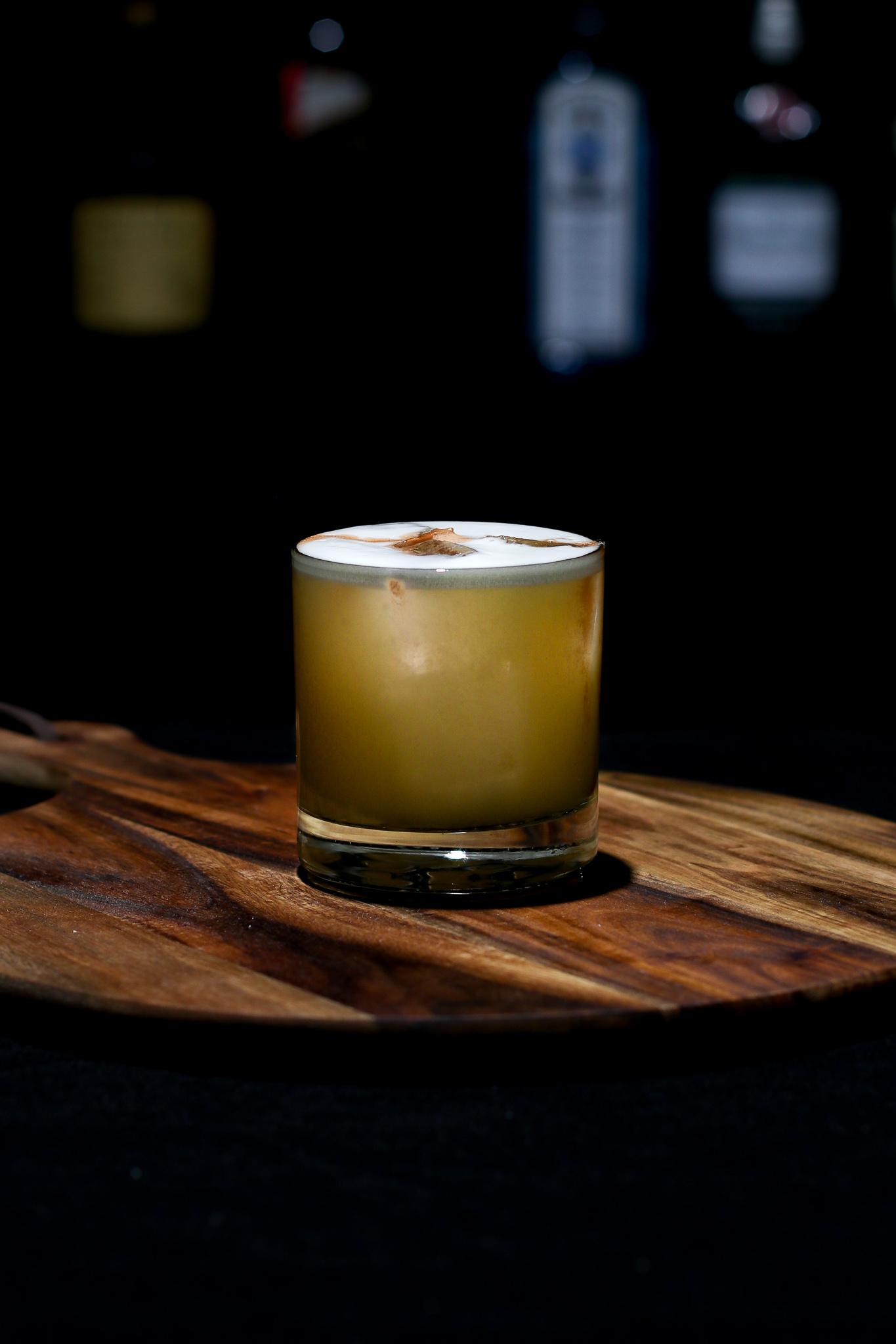 Whiskey Sour Recipe (Bourbon)