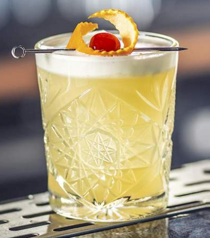 Whiskey Sour Recipe (Rye)