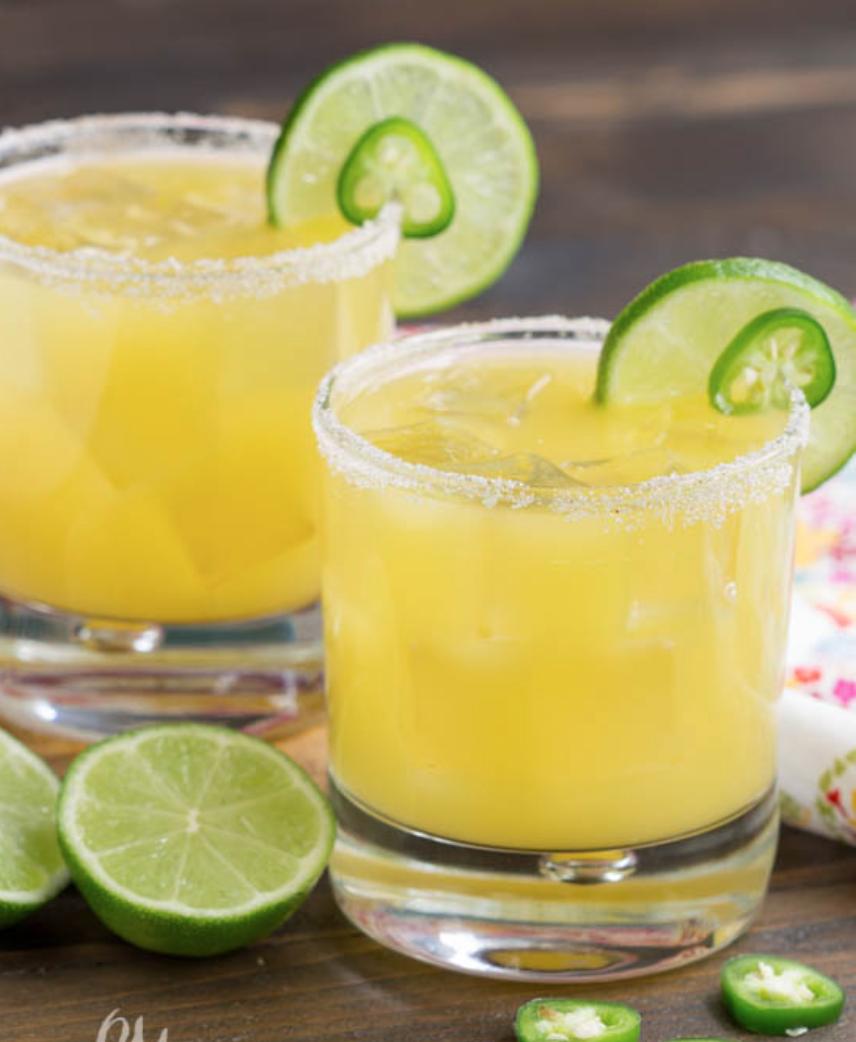 Spicy Pineapple Margarita Recipe