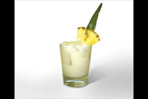 Pina Colada Recipe (Not Frozen, light rum)