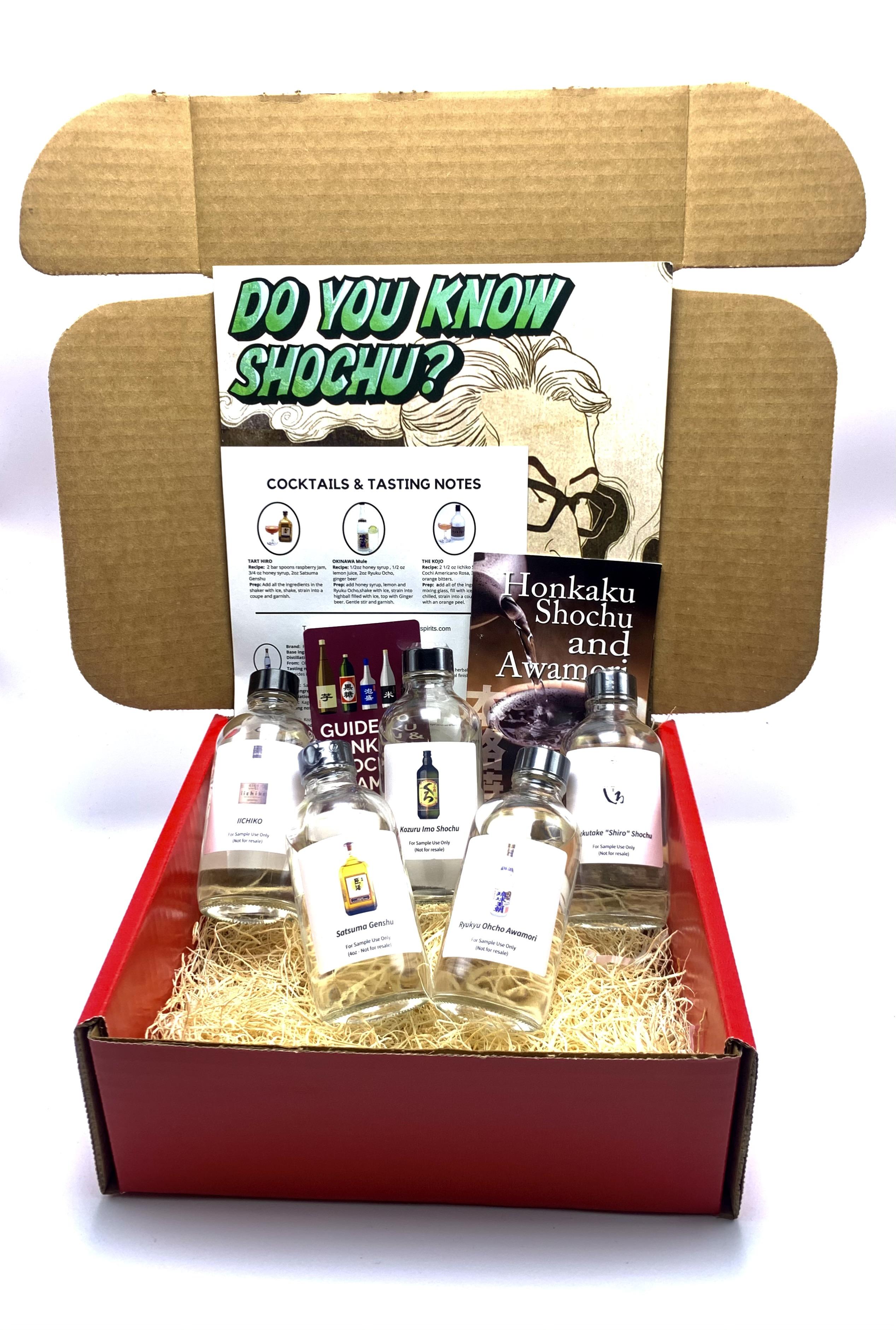 Shochu Tasting Kit
