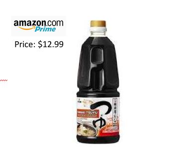 Tsuyu (Liquid concentrated Japanese noodle soup base) 33.8 fl oz
