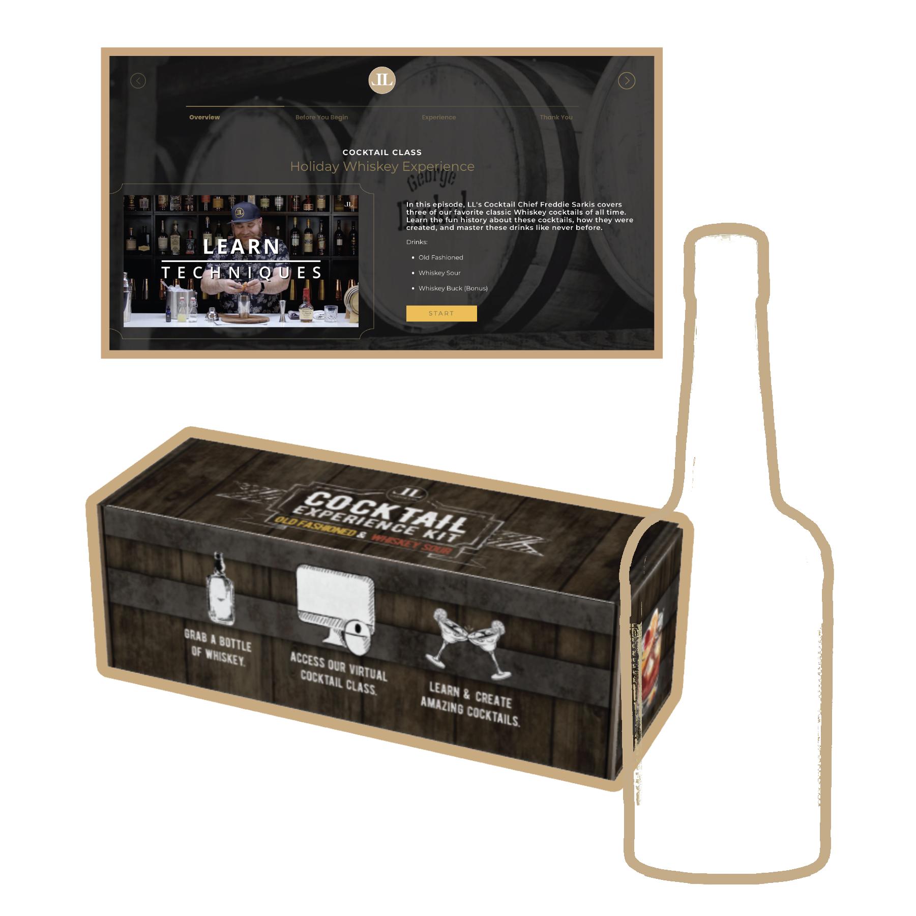 Whiskey Experience Kit (BYOB)
