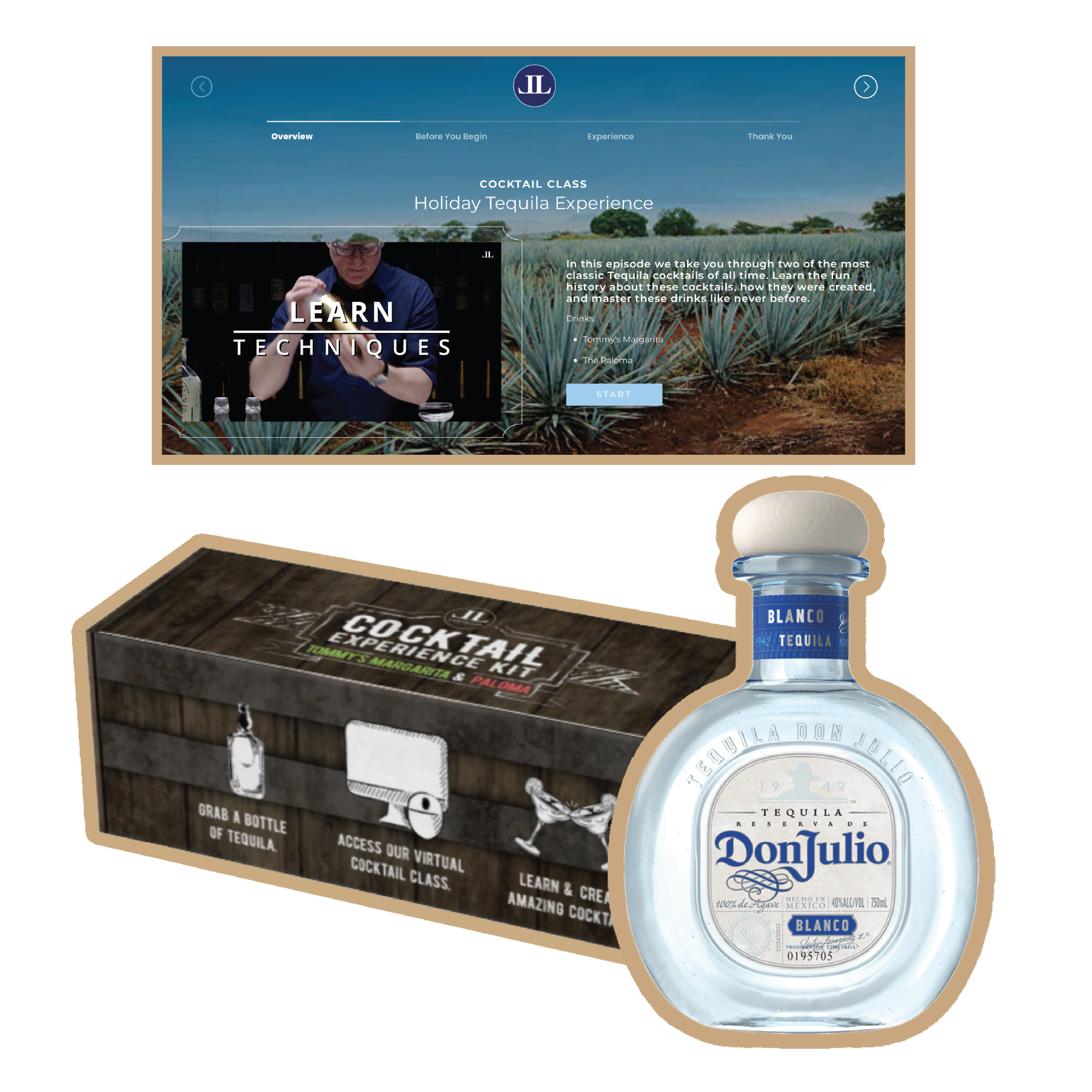 Tequila Experience Kit